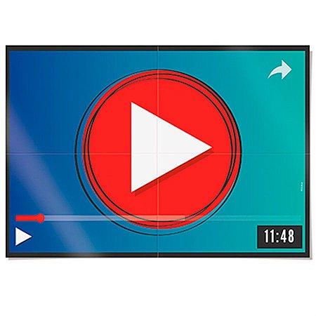 Painel 4 Folhas - Youtuber - Influencer