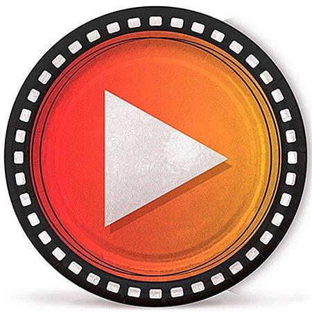 Prato de Papel - Youtuber - Influencer - 08 unidades