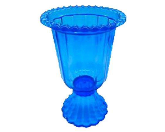 Vaso Grego - Azul Transparente