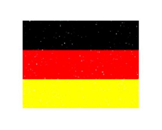 Painel Decorativo EVA - Bandeira Alemanha