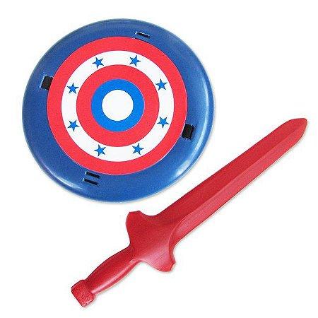 Brinquedo Kit Espada e Escudo