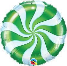 Balão Metalizado  - Bala Espiral  - 18 Polegadas