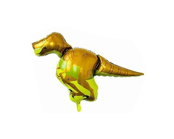 Balão Metalizado Dinossauro -  velociraptor - 95cm