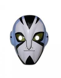 Máscara  Plástica Rosto Inteiro - Rook Overmniverse - Ben 10
