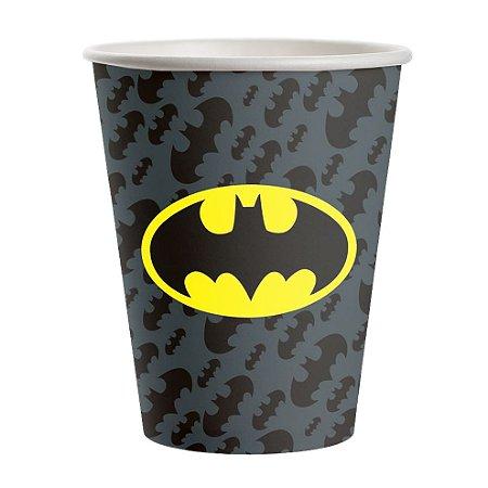 Copo de Papel 200ml - Batman Geek - 16 unidades