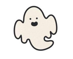 Faixa Decorativa Hallooween EVA - Fantasma