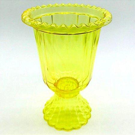 Vaso Grego - Amarelo Transparente