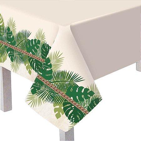 Toalha de Mesa Plástica - Dinossauro