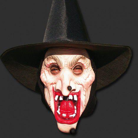 Máscara Latex Halloween - Bruxa