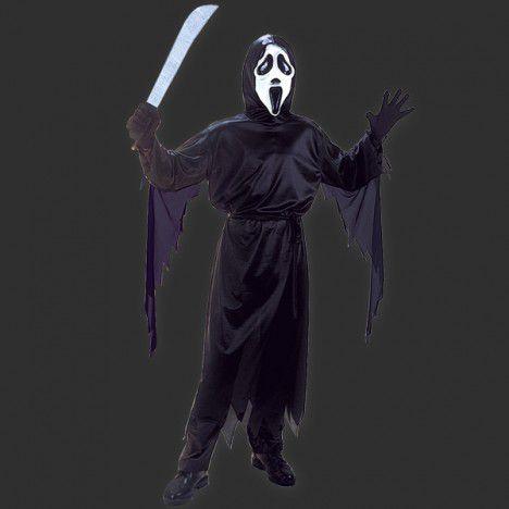 Fantasia Halloween Infantil - Panico M - 6 a 8 anos