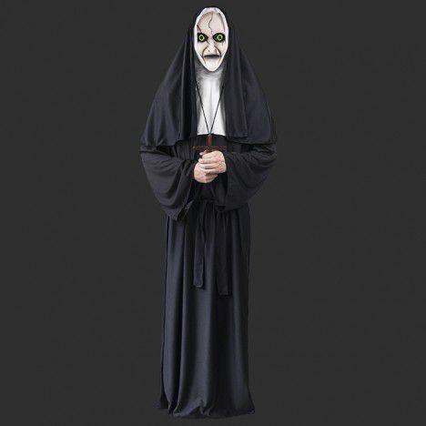 Fantasia Adulto Halloween - Freira Assassina