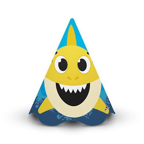 Chapéu de aniversário - Family Shark