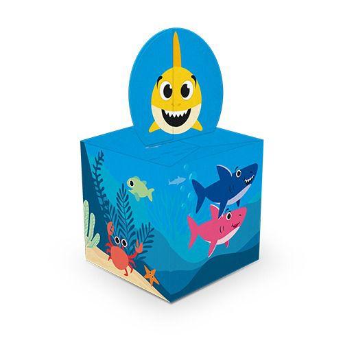 Caixa para Lembrancinhas - Family Shark - 08 Unidade