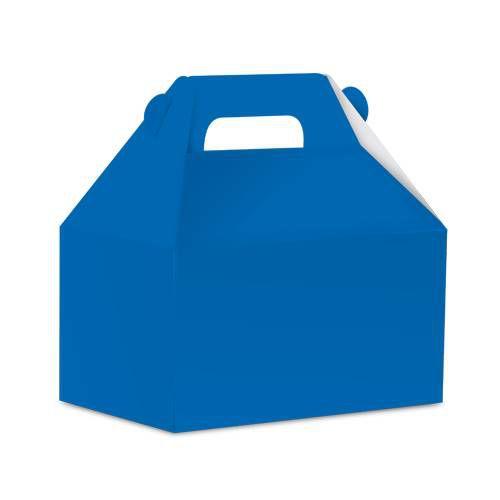 Caixa Surpresa Maleta  - Live Colors - Azul Royal - 16 unid