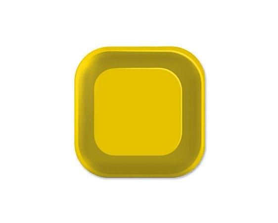 Prato de Papel - Live Colors - Amarelo - 08 unidades