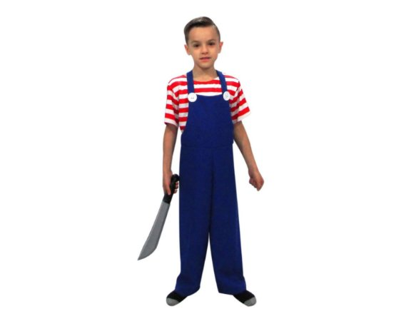 Fantasia Infantil - Chucky - Halloween - 10 anos