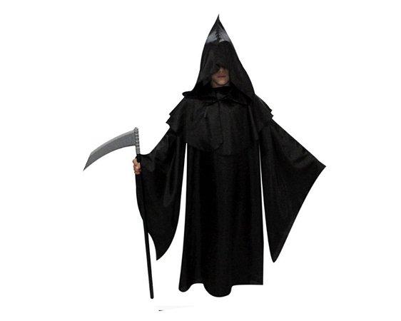 Capa Pânico - Infantil - Halloween - Tamanho 10