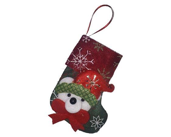 Enfeite Decorativo - Meia de natal 3