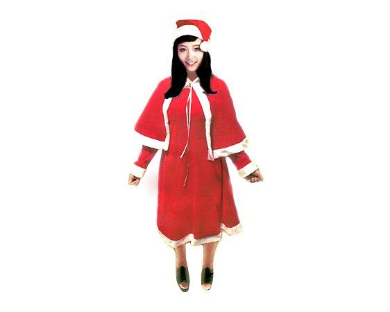 Fantasia Adulto - Mamãe Noel