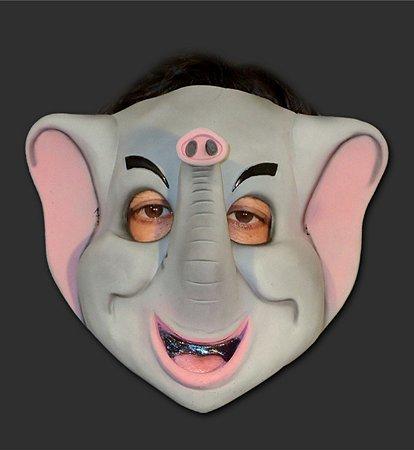 Máscara Carnaval - Elefante com Elástico