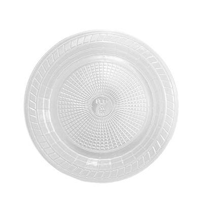 Prato Descartável - Transparente - 15 cm