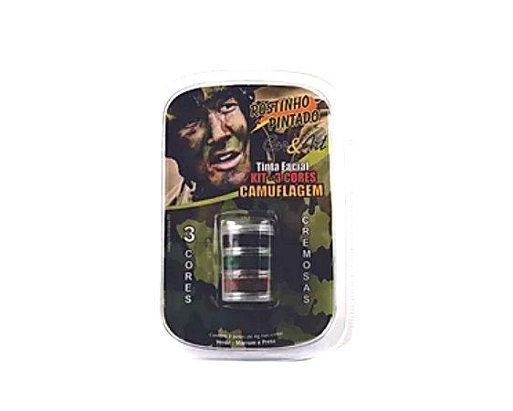 Kit Camuflagem - 3 Cores