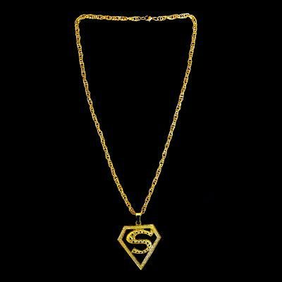 Cordão Ostentação - Superman - Dourado - 31cm