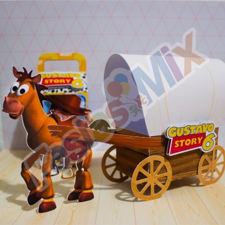 Lembrancinhas Personalizadas Luxo -  Toy Story  - 10 unidades