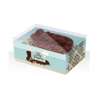 Caixa - Ovo de Colher - Turquesa 250g