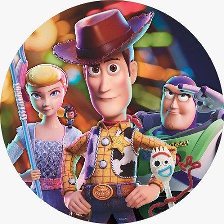 Painel Sublimado em Tecido - Toy Story - 1,55m - Sistema Monte Facil