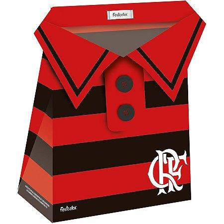 Caixa Camisa Flamengo - 08 unidades