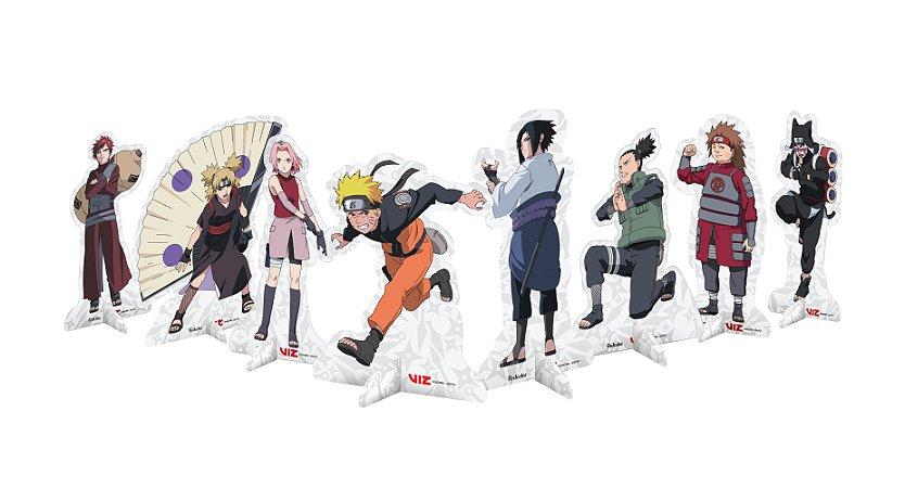 Decoração de Mesa Festa Naruto - 08 unidades
