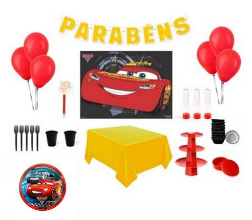 Kit Decoração Especial - Carros