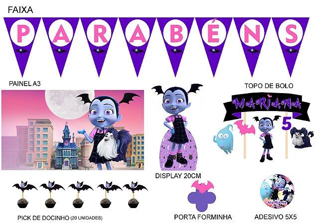 Kit Festa Espetacular Personalizado - Vampirina