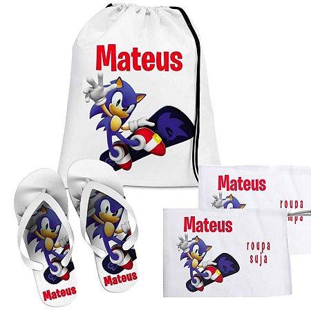 Kit Natação - Sonic