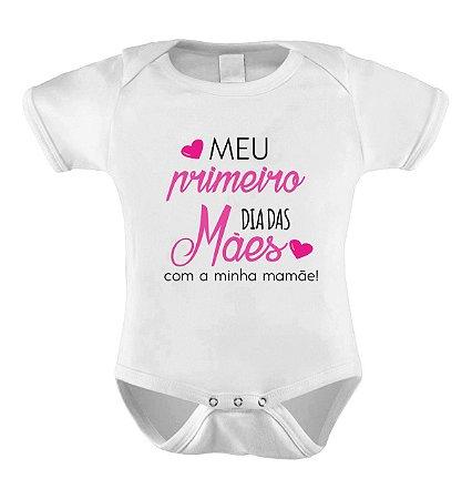 Body Personalizado Dia das Mães - Com Tema