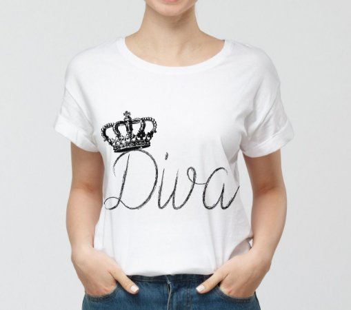 Camisa Personalizada - Diva 2