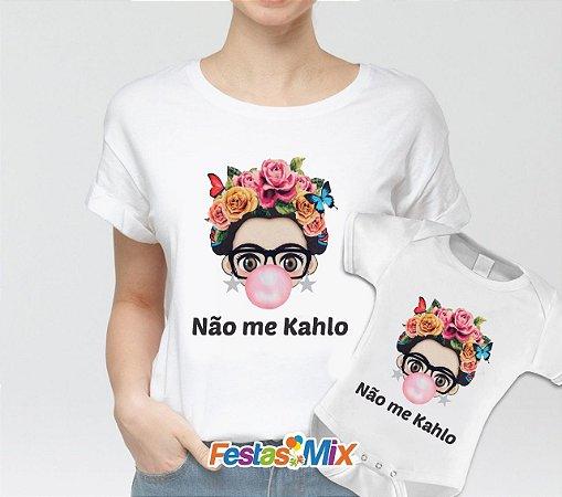 Kit Dia das Mães - Camisa + Body - Não me Kahio
