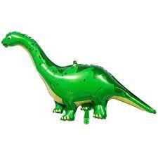 Balão Metalizado Dinossauro Braquiossauro - 43cm