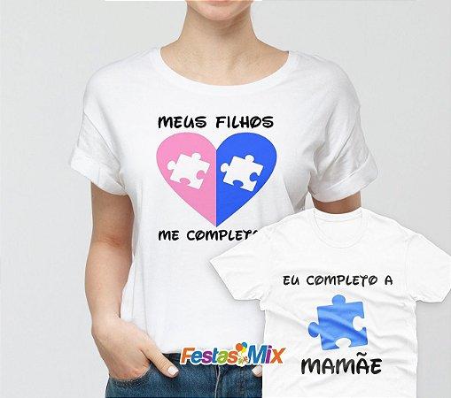 Kit Dia das Mães - Camisa + Camisa Infantil 1