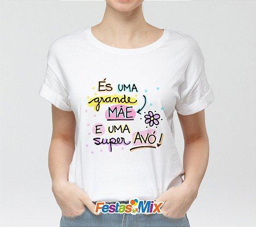 Camisa Personalizada - Super Avó Color