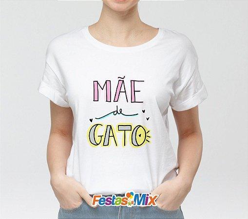 Camisa Personalizada - Mãe de Gato