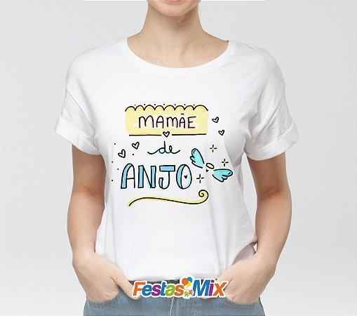 Camisa Personalizada -Mamãe de Anjo 2
