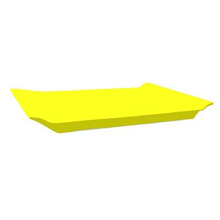 Bandeja Retangular - Amarelo neon