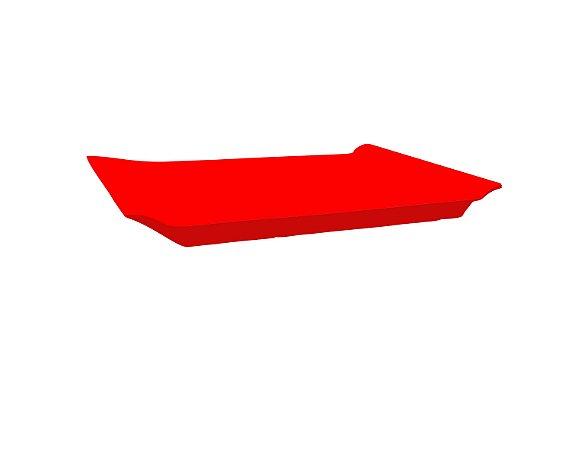 Bandeja Retangular - Vermelha