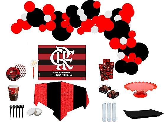 Kit Decoração de Festa Master - Flamengo