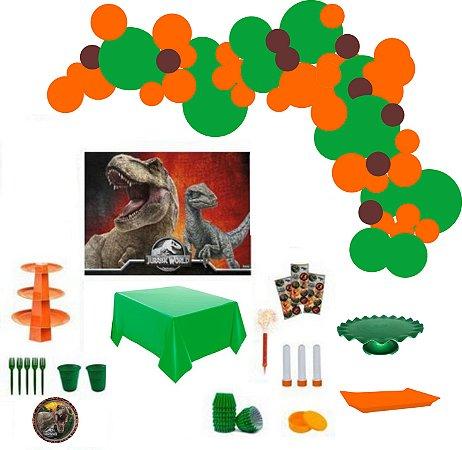 Kit Decoração de Festa Master - Jurassic Park