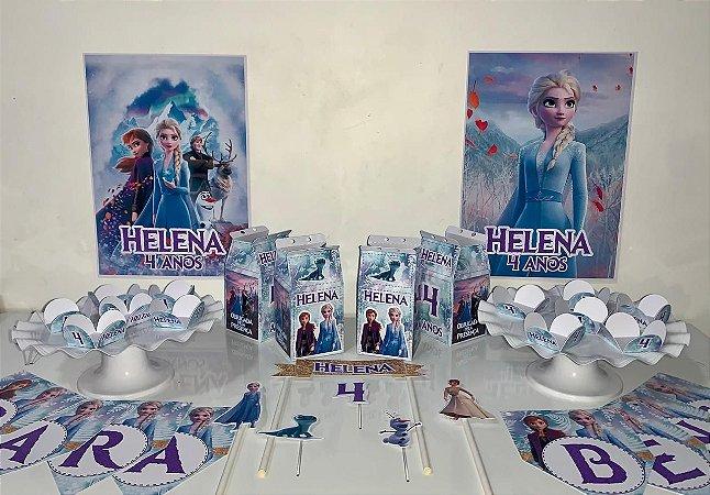 Kit Festa Personalizada  Frozen 2