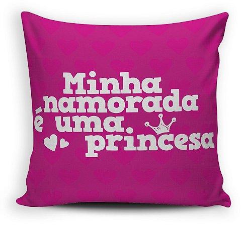 Almofada Minha Princesa Rosa 30 x 30