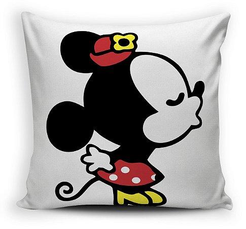 2  Almofadas  30 x 30 - Mickey  e Minnie Beijo